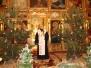 Духовенство, віруючі та діти привітали свого владику з Різдвом Христовим