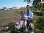 Освячення хреста у селі Веселому Синельниківського району
